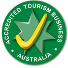 Accredited Tourism Business Australia Tick - Lush Pastures