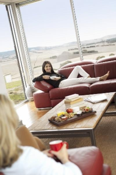 Chill out in the guest lounge room.